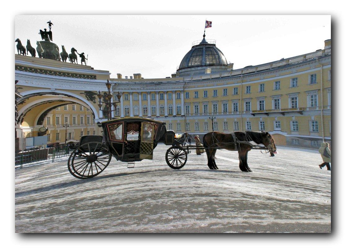 В ожидании на Дворцовой площади - Наталья