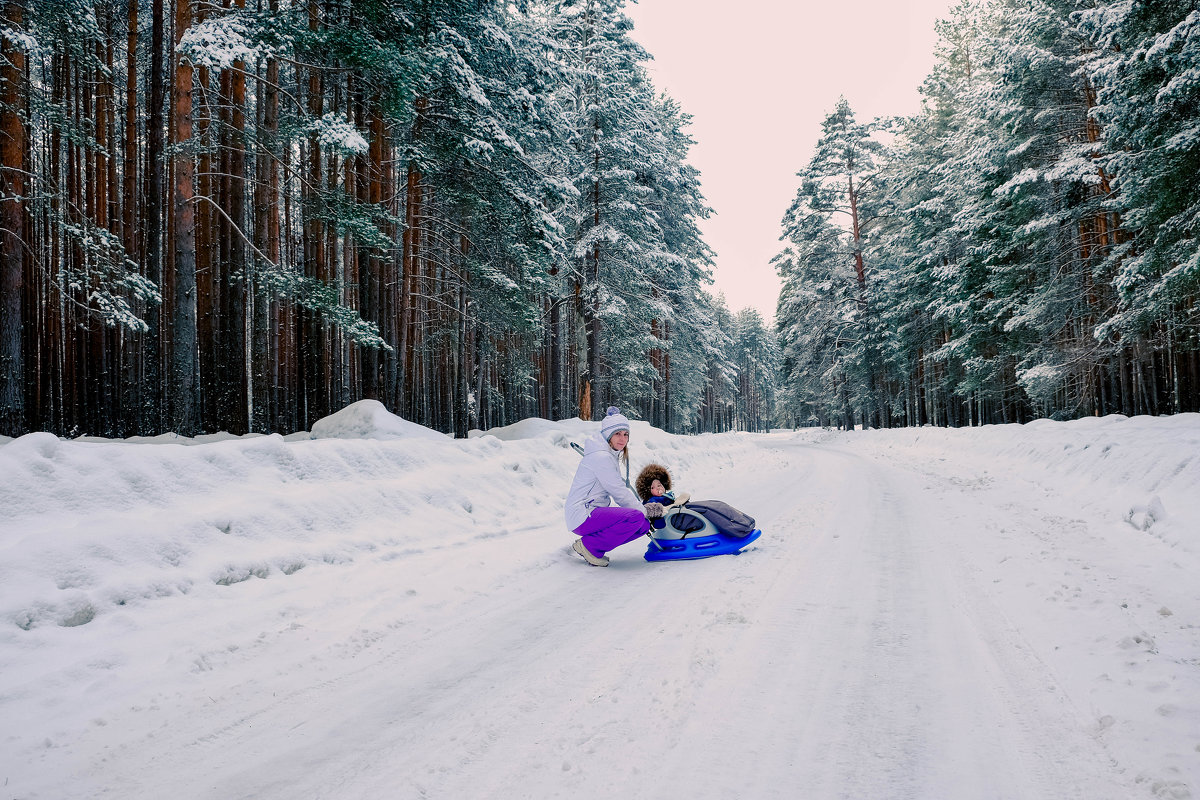 Настоящая зима только в лесу - Дмитрий Колесников