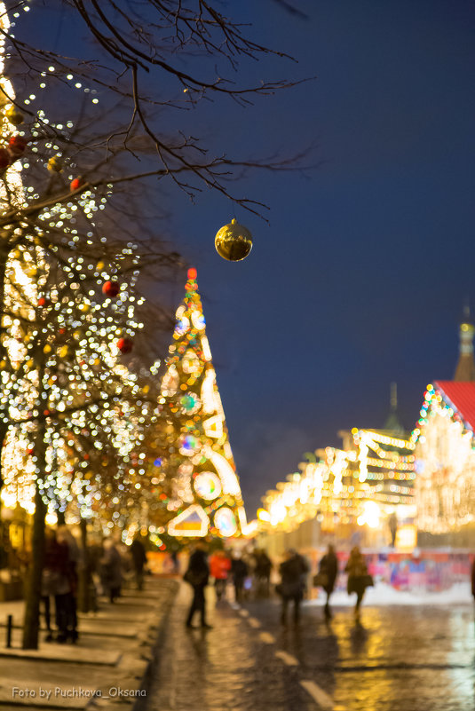 Новогодняя Красная площадь - Оксана Пучкова