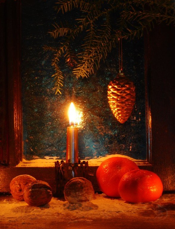 Свеча горела на окне. - Лара Гамильтон