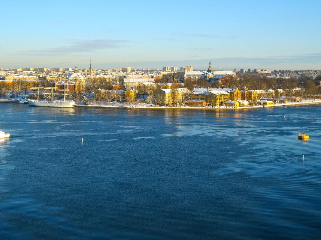 Стокгольм сверху, 6 января 2017 - Елена