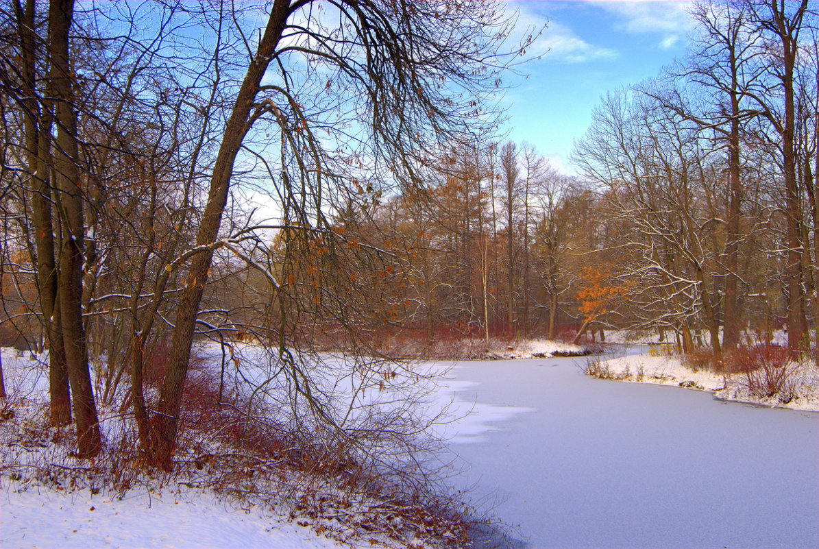 Первый снег - Наталья