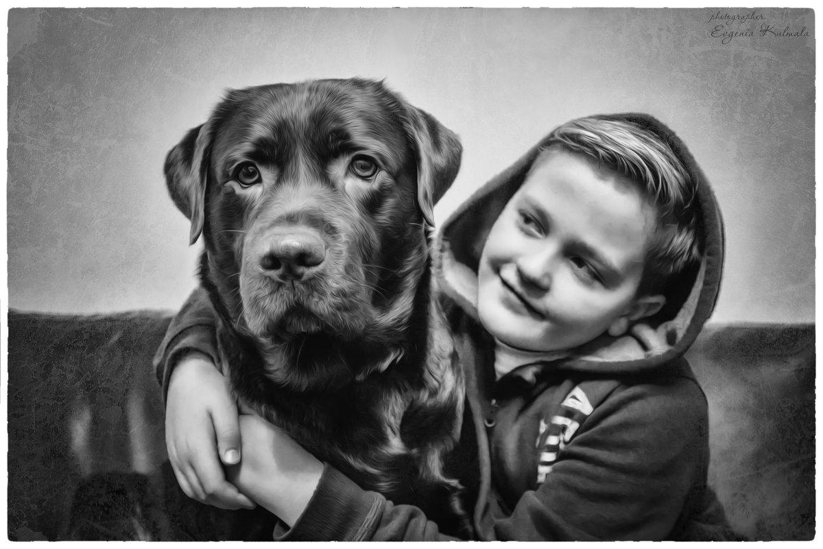 Мальчик с другом - Евгения К
