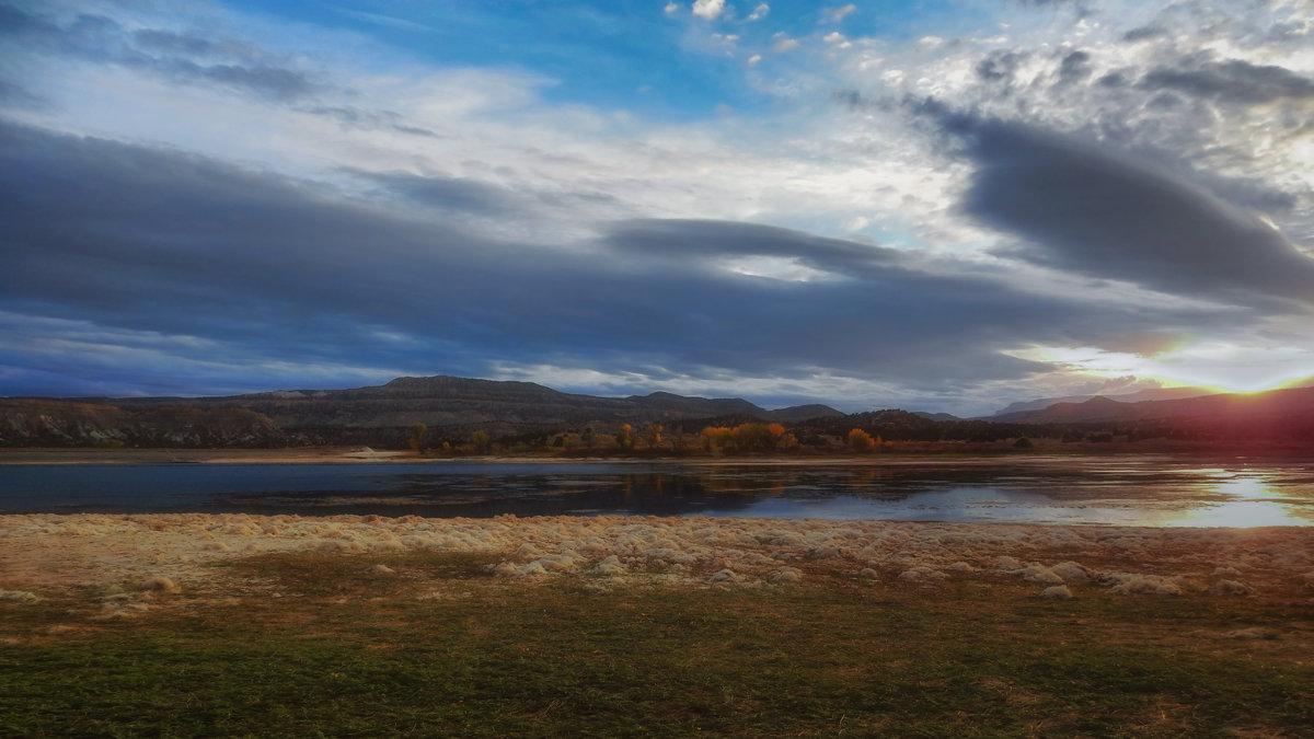 закат на озере - svabboy photo