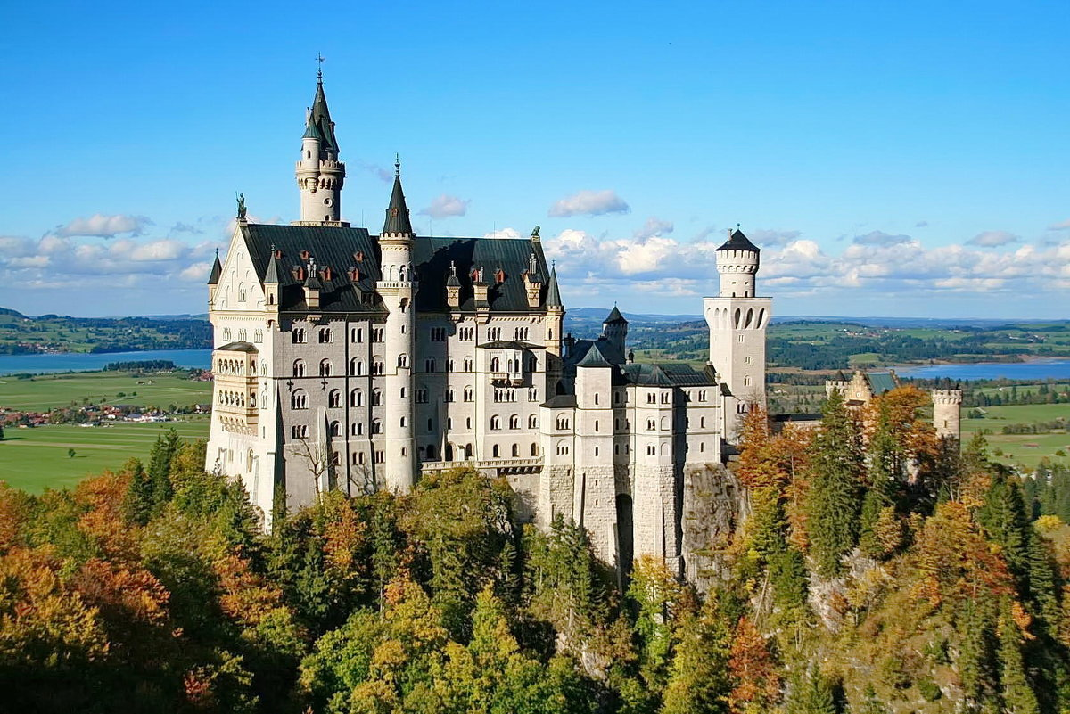 Замок Нойшвайнштайн/ Германия - Kapris VS