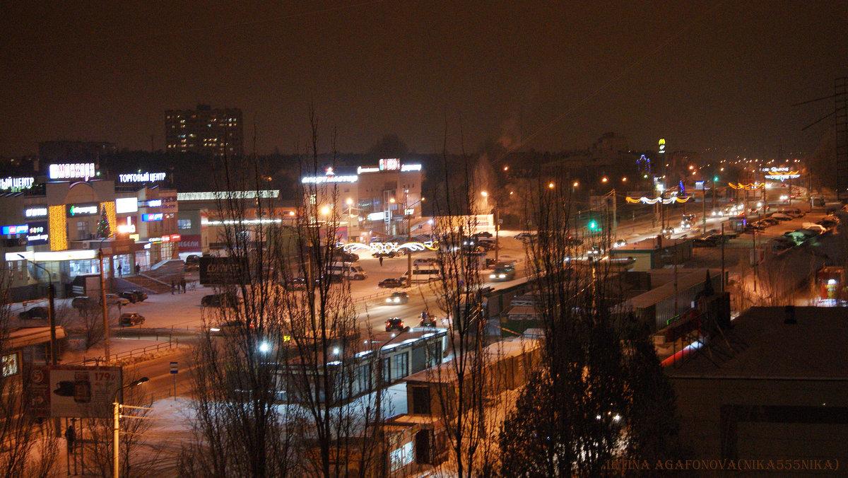 Город в первые дни Нового года - nika555nika Ирина