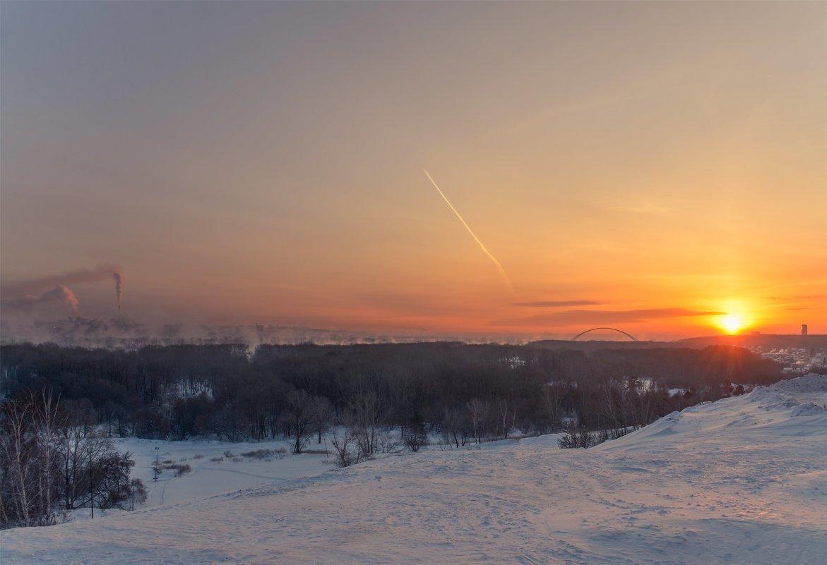 Морозное утро в городе - cfysx