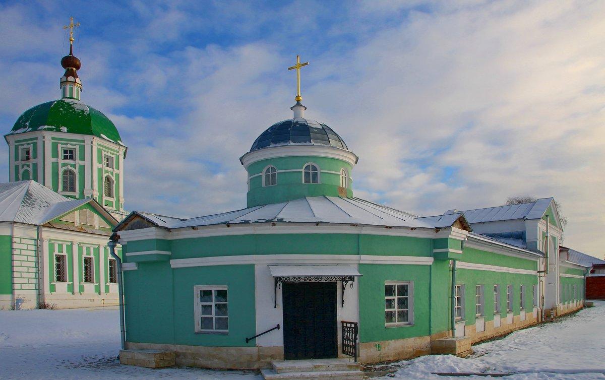 Подворье Свято-Екатерининского женского монастыря.... - Tatiana Markova