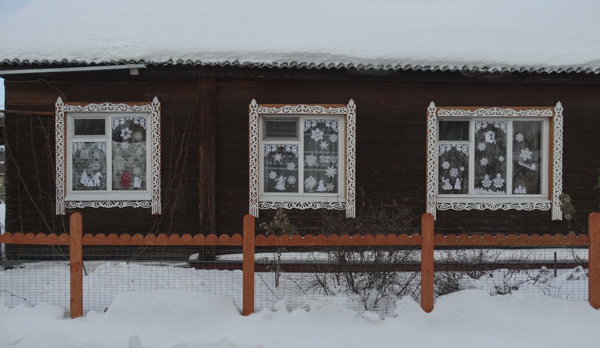 Новогодние окна - Геннадий Г.