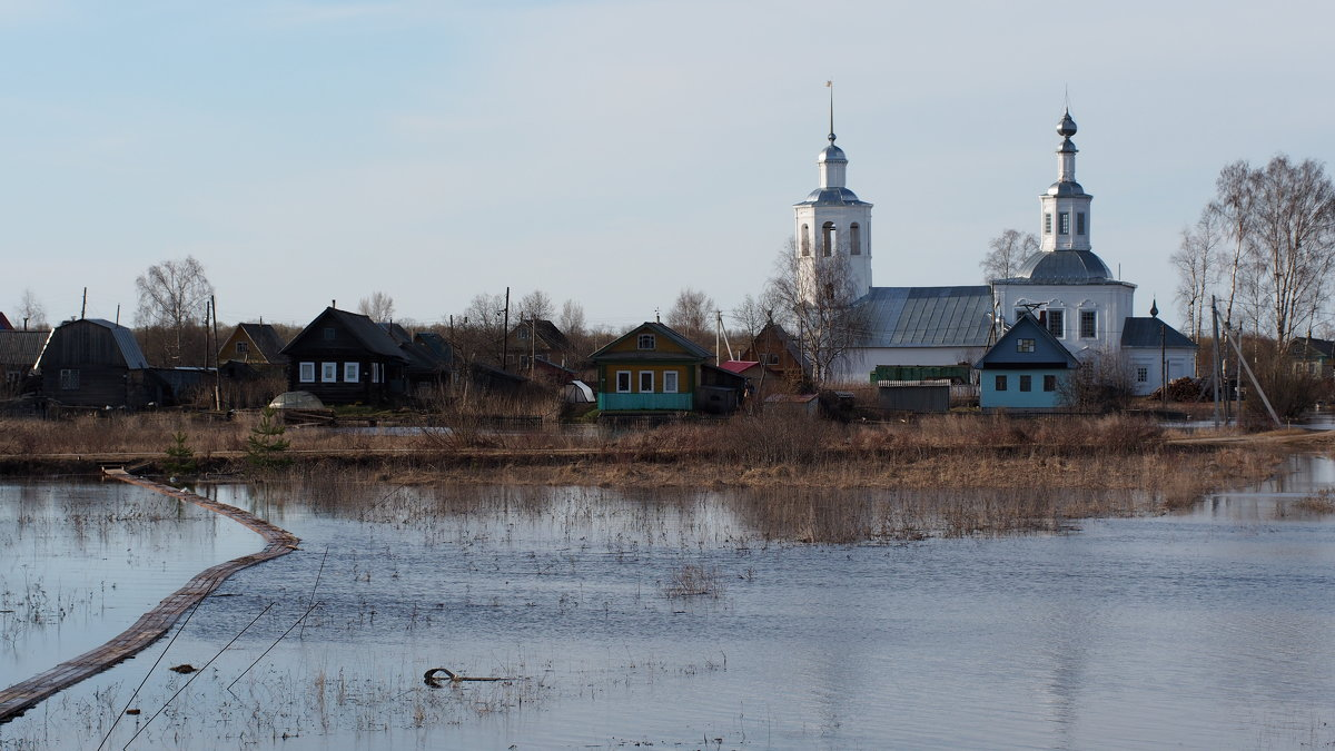 Разлив Северной Двины - Сергей Михальченко