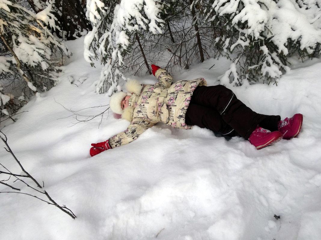 Какой снег пушистый! - Елизавета Успенская