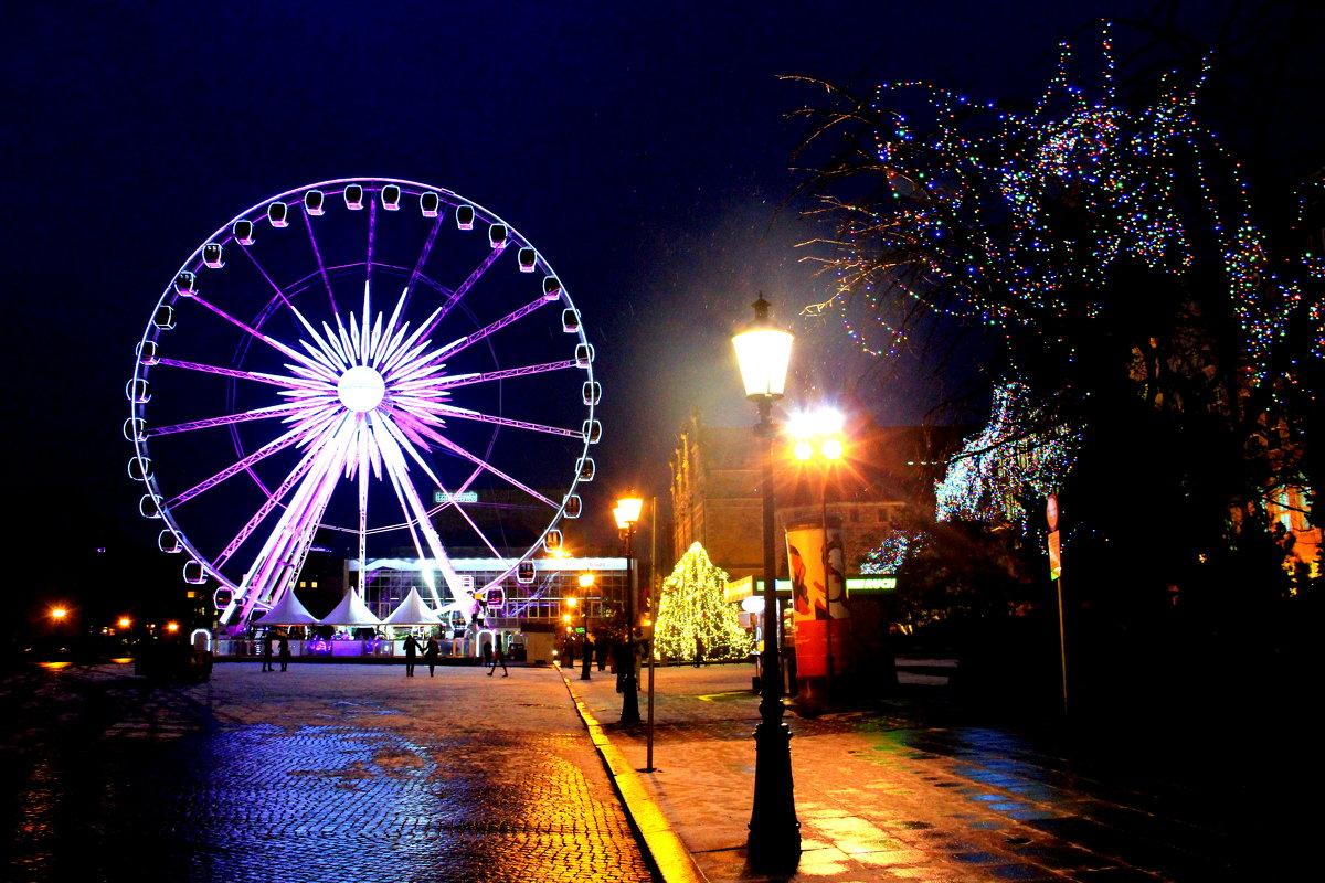 ночной город - Ольга