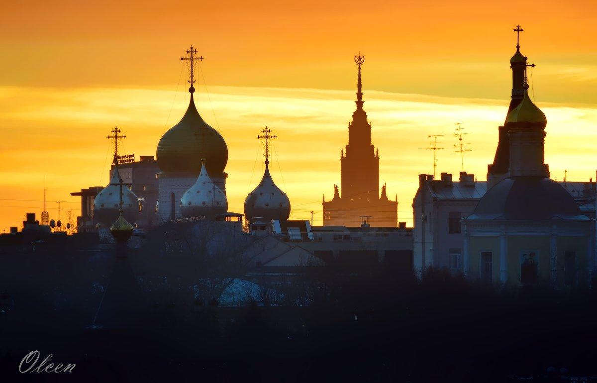 Московские силуэты - Olcen - Ольга Лён