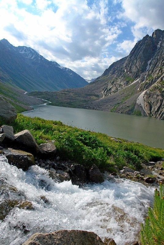 Озеро, h - 3300м. - Виктор Осипчук