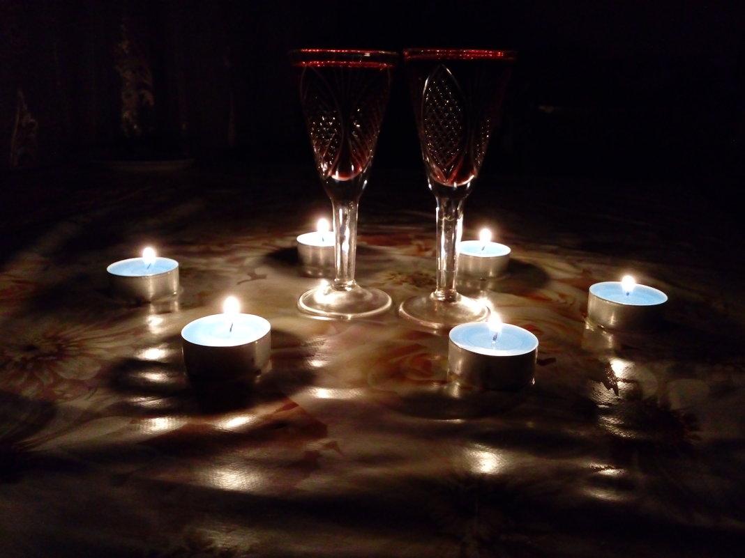 Ужин при свечах. - Marina