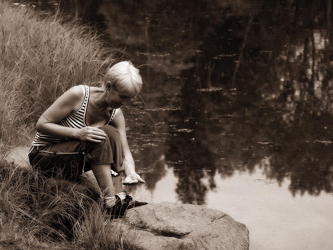 Играющая с бобочкой - Екатерина Торганская