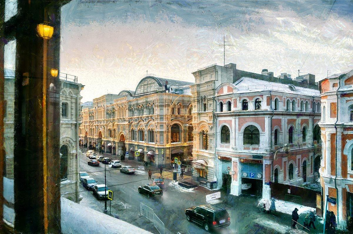 Увидеть собственного мужа, однажды выглянув в окно - Ирина Данилова