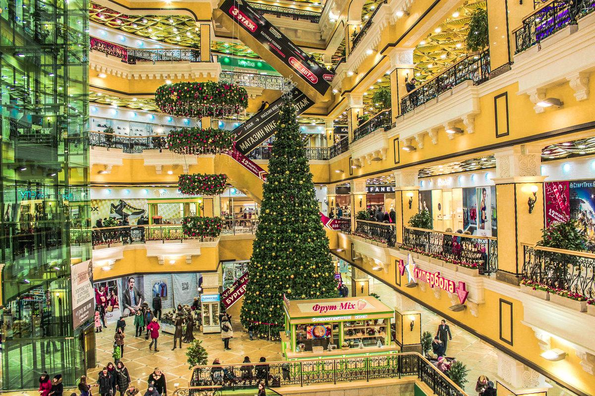 новогодняя елка в пассаже - Ирина