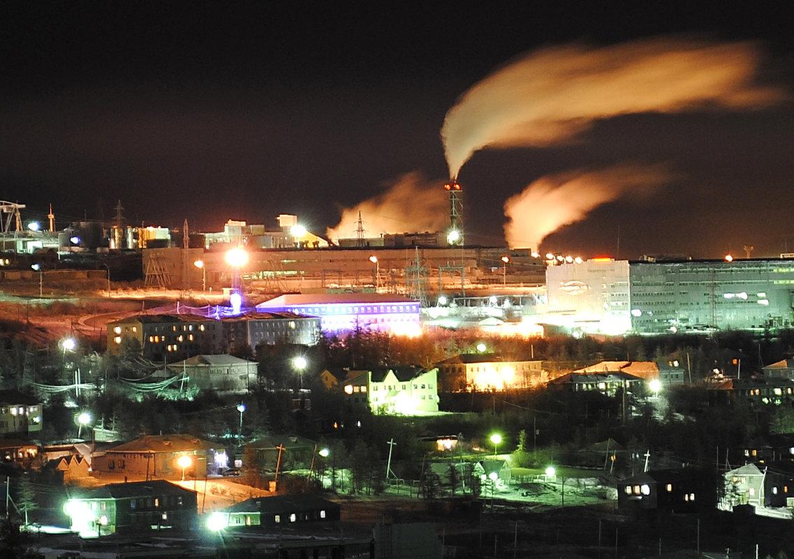 Industrial night - Сергей Nikon