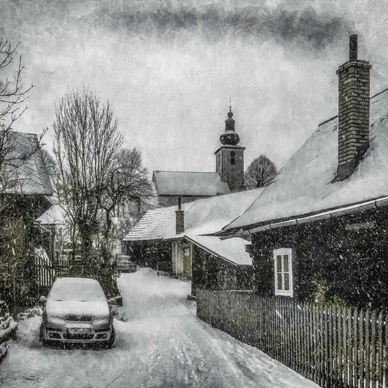 Зима в Европе... - Алексей Лебедев