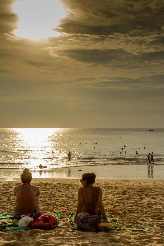 На пляже - Андрей Кузнецов