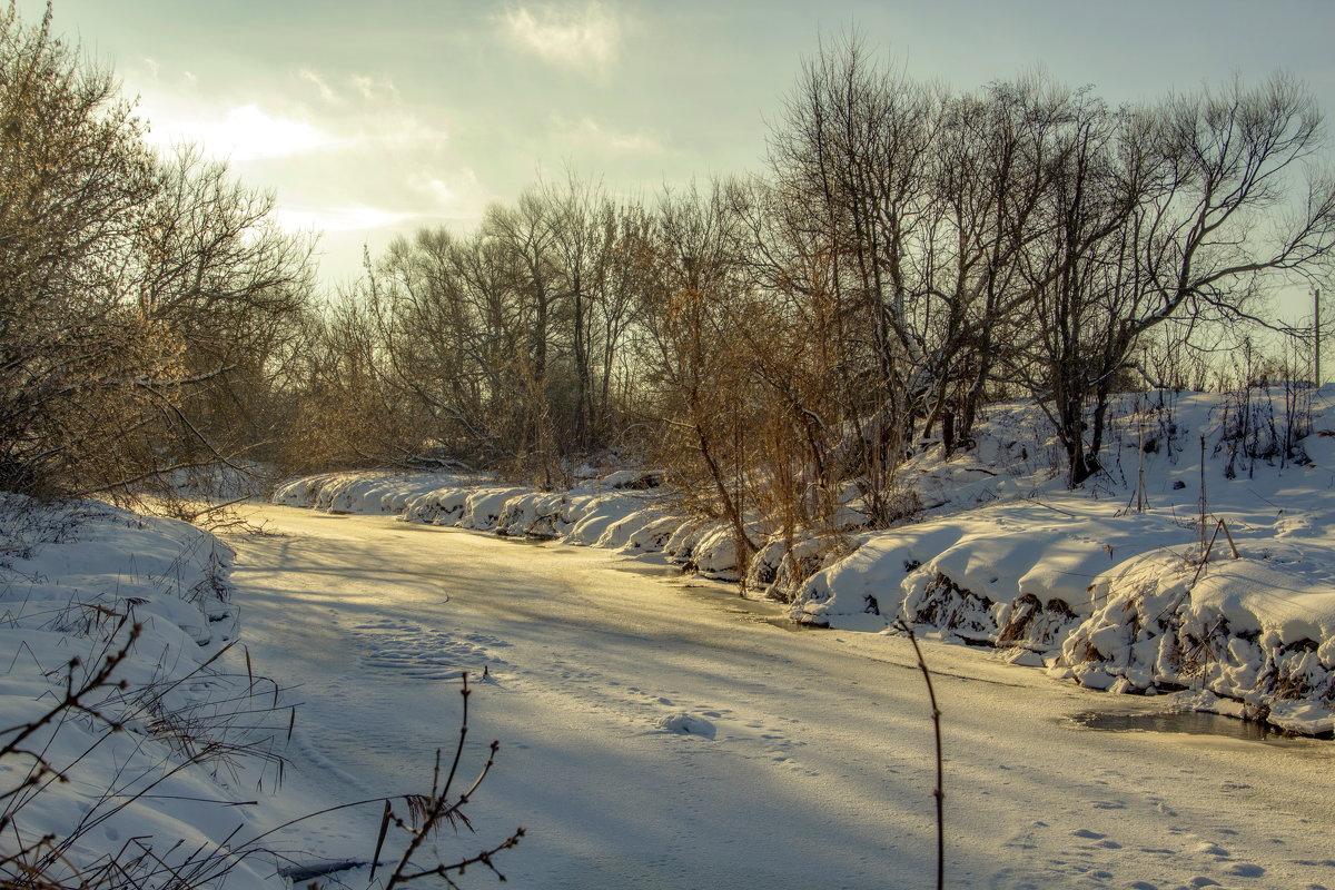 Речка Яхрома зимой. - Анатолий. Chesnavik.