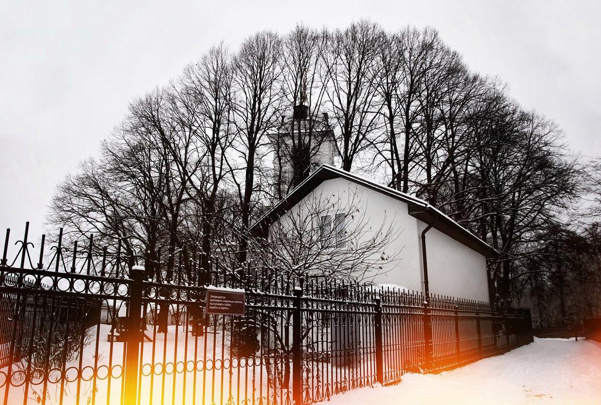 с.Иславское Храм Спаса-Нерукотворного образа - Евгений Жиляев