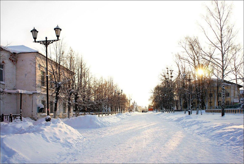 Яркий зимний день... - марк