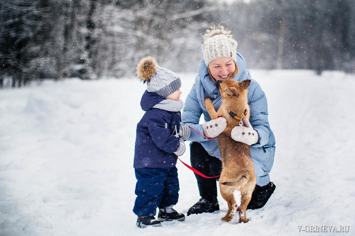 Зимняя прогулка - Виктория Гринева