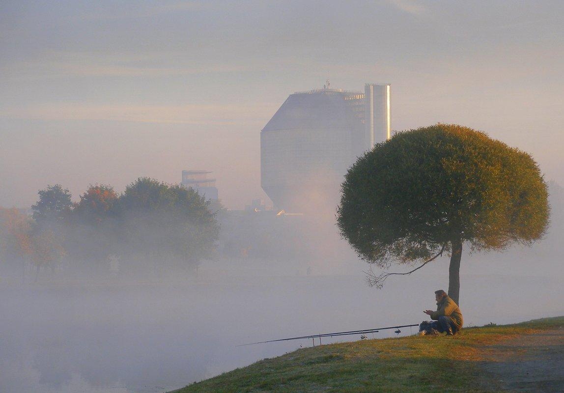 На утренняя зорьке в Минске - Валерий Кишилов