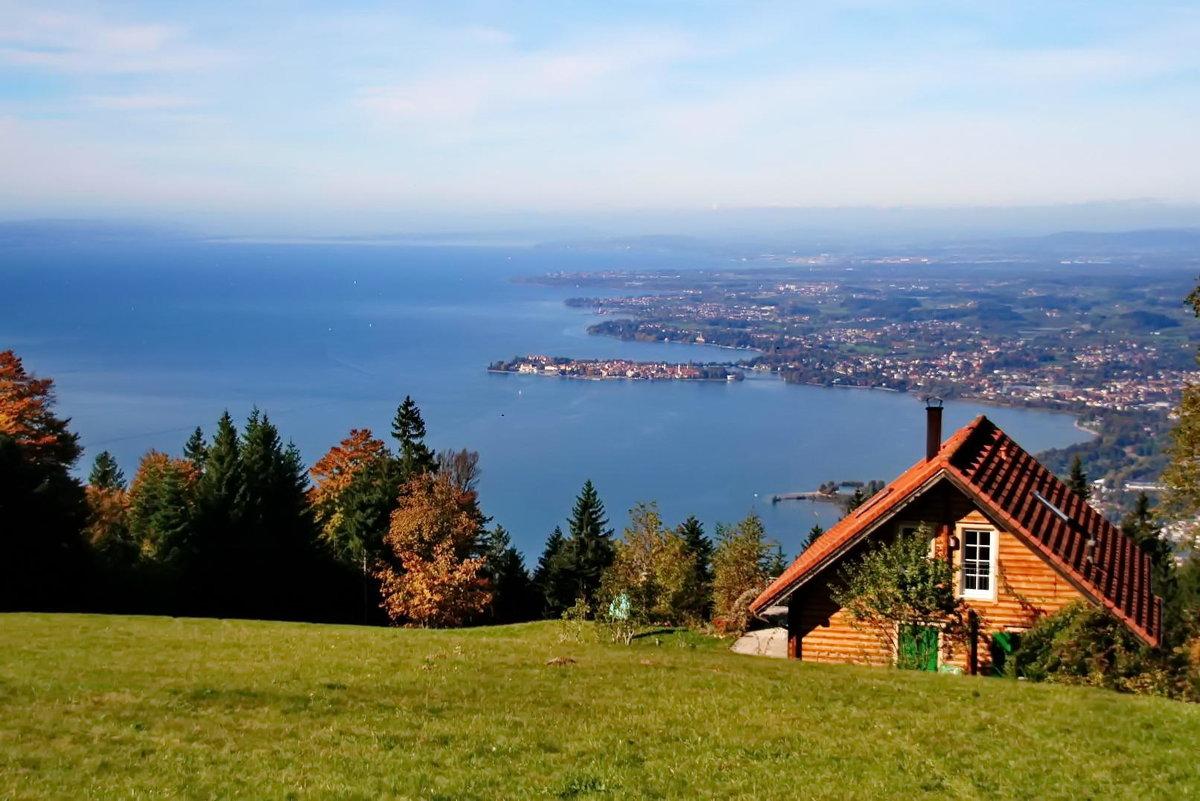 Вид с Австрийской горы на остров Линдау - Kapris VS