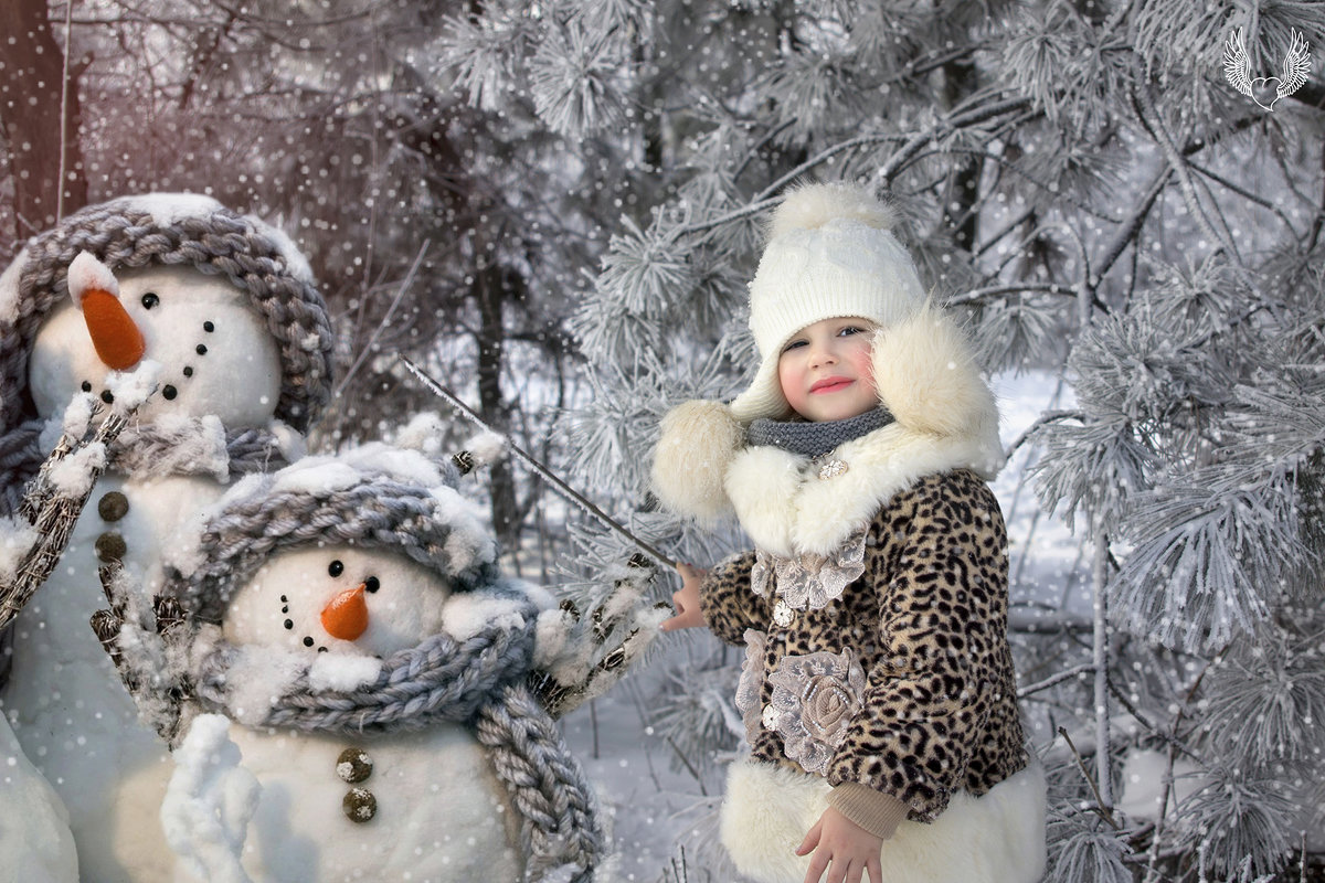 Снег по улице метёт, Вьюга песенки поёт... - Райская птица Бородина