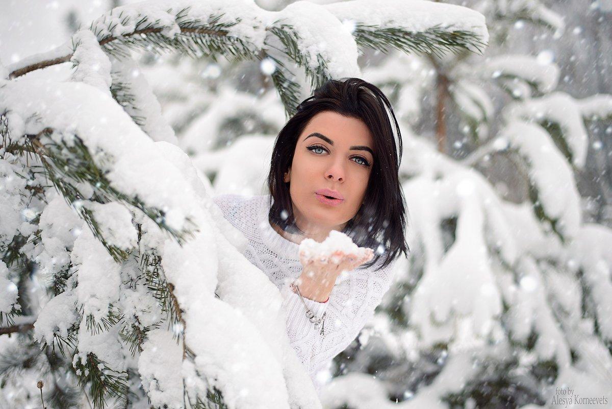 Зима время чудес ) - Алеся Корнеевец