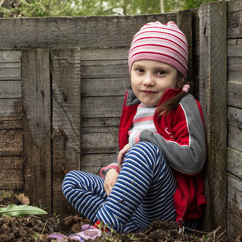 Девочка, сидящая в компостной куче - Сергей W.Протопопов