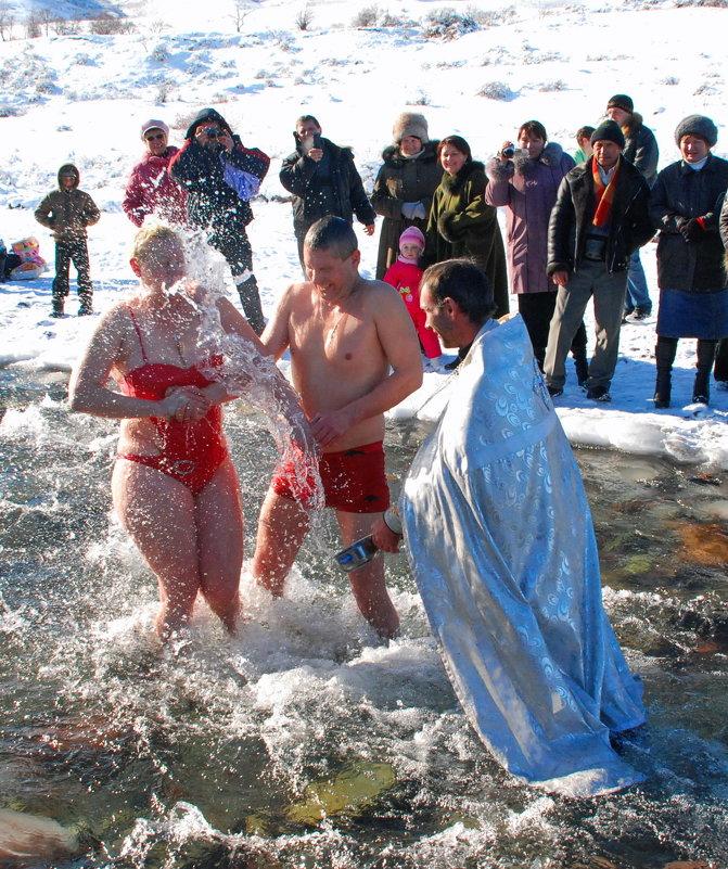 Крещение - santamoroz