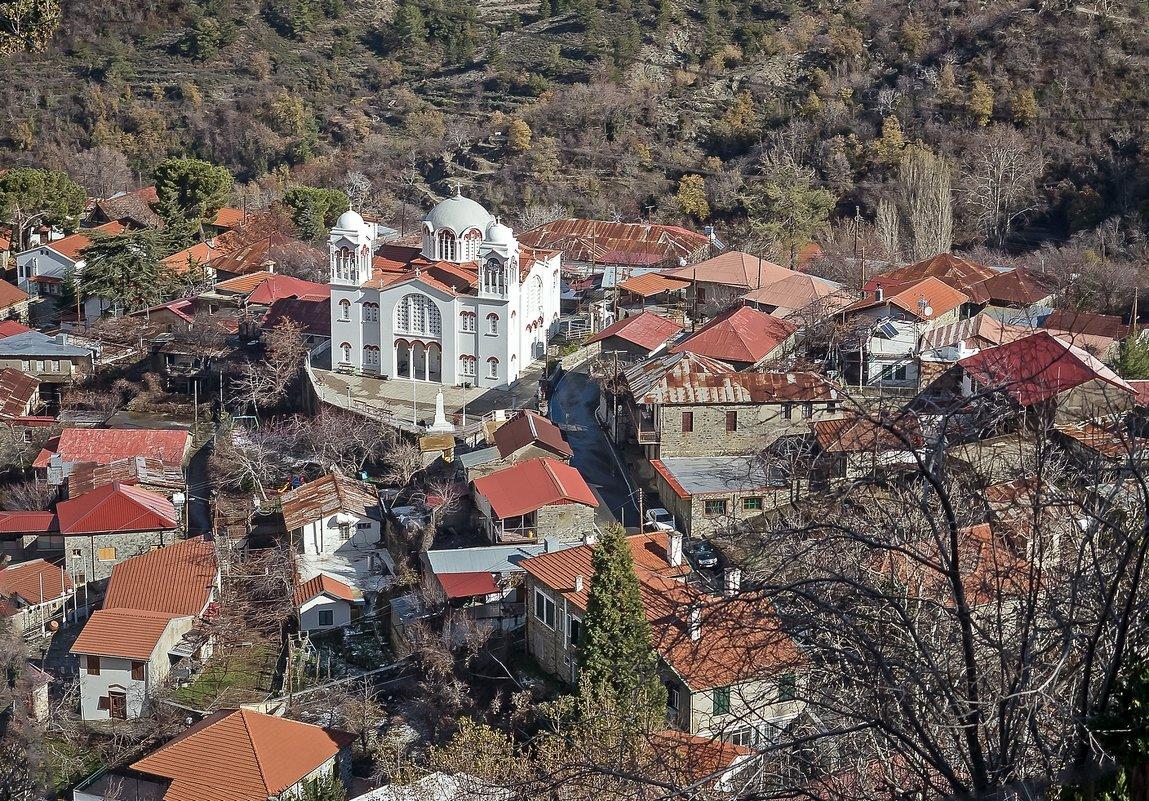Кипр, храм в горном селе - Виталий Авакян