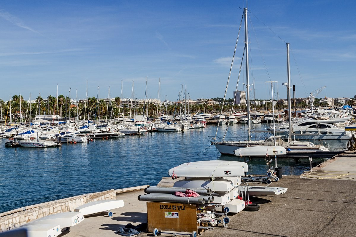 Яхт клуб в Салоу. Испания - Дмитрий Сиялов