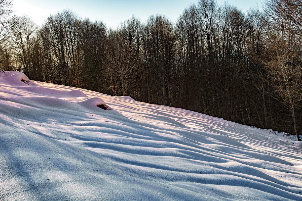 Зима в горах Абхазии. - Александр Криулин
