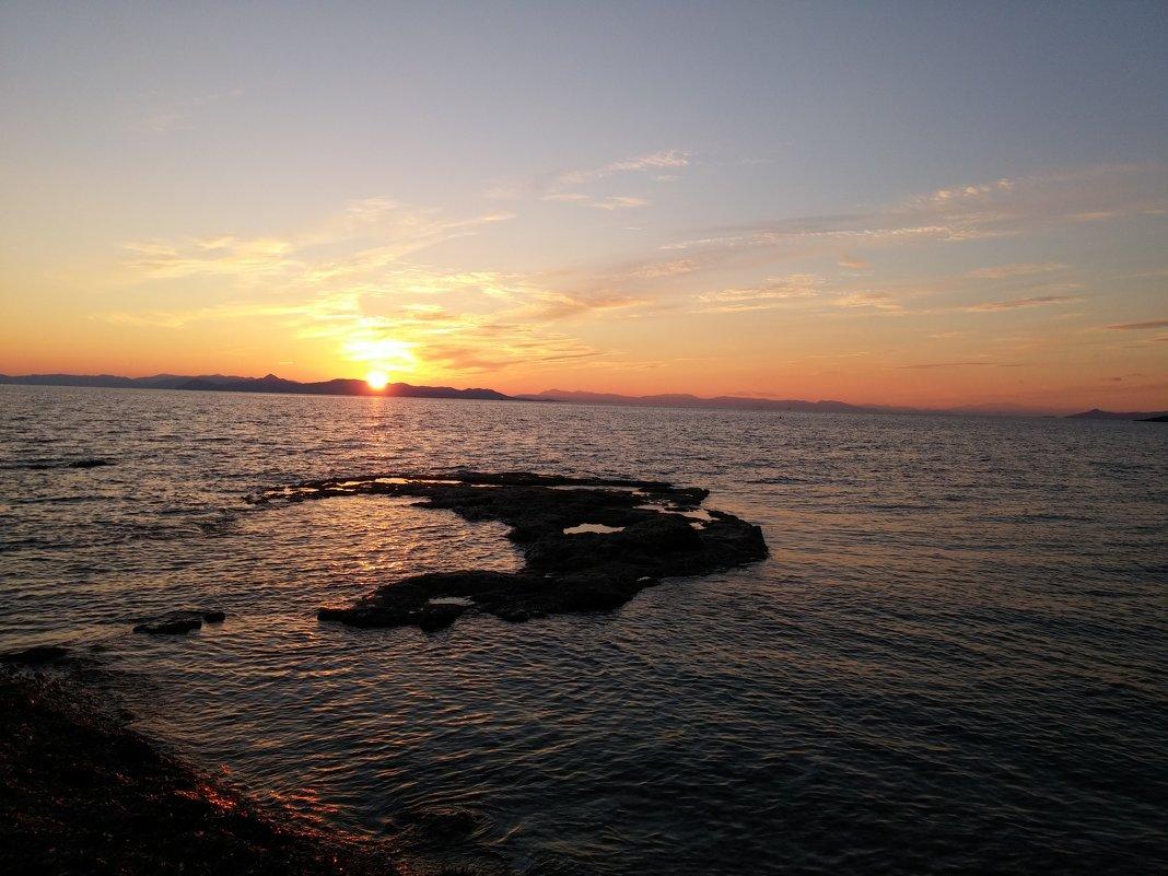 Закат на Средиземном море - Юлия