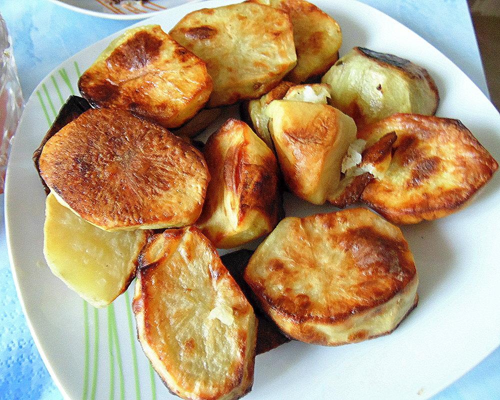 Печёный картофель . - Мила Бовкун