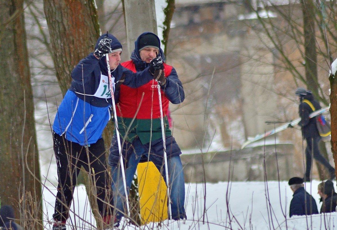 На лыжне.. - Юрий Анипов