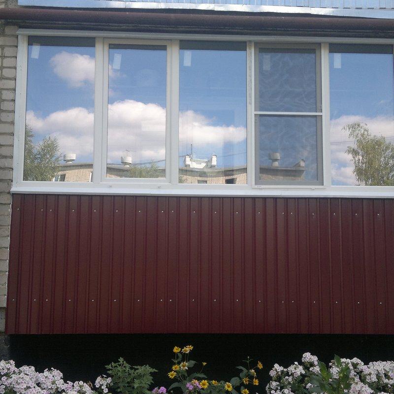 Остекление балконов,окна пвх в тамбове - остекление балконов.