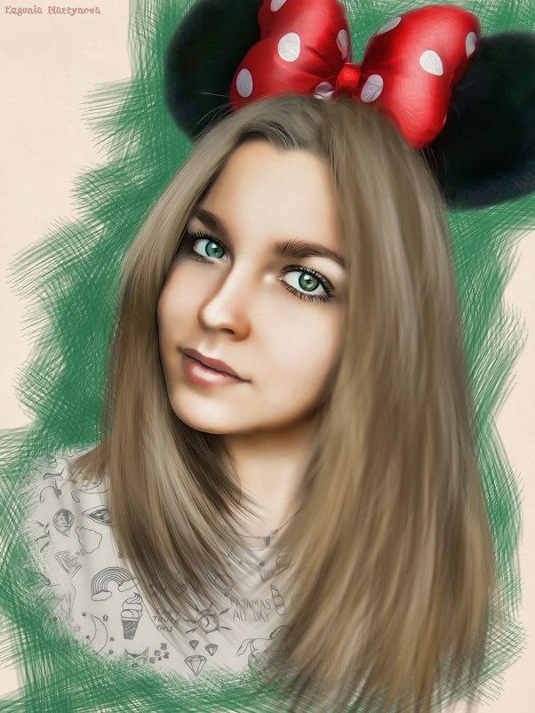 Рисунок по фото 1) - Евгения Мартынова