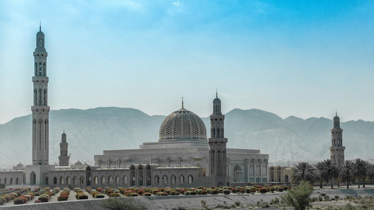 Мечеть султана Кабуса в Маскате (Оман) - Владимир Горубин