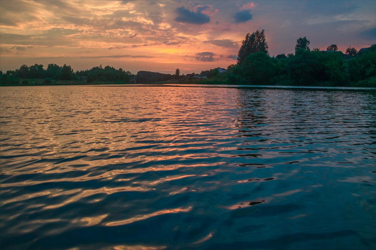 Последние лучи над озером - Александр Березуцкий (nevant60)