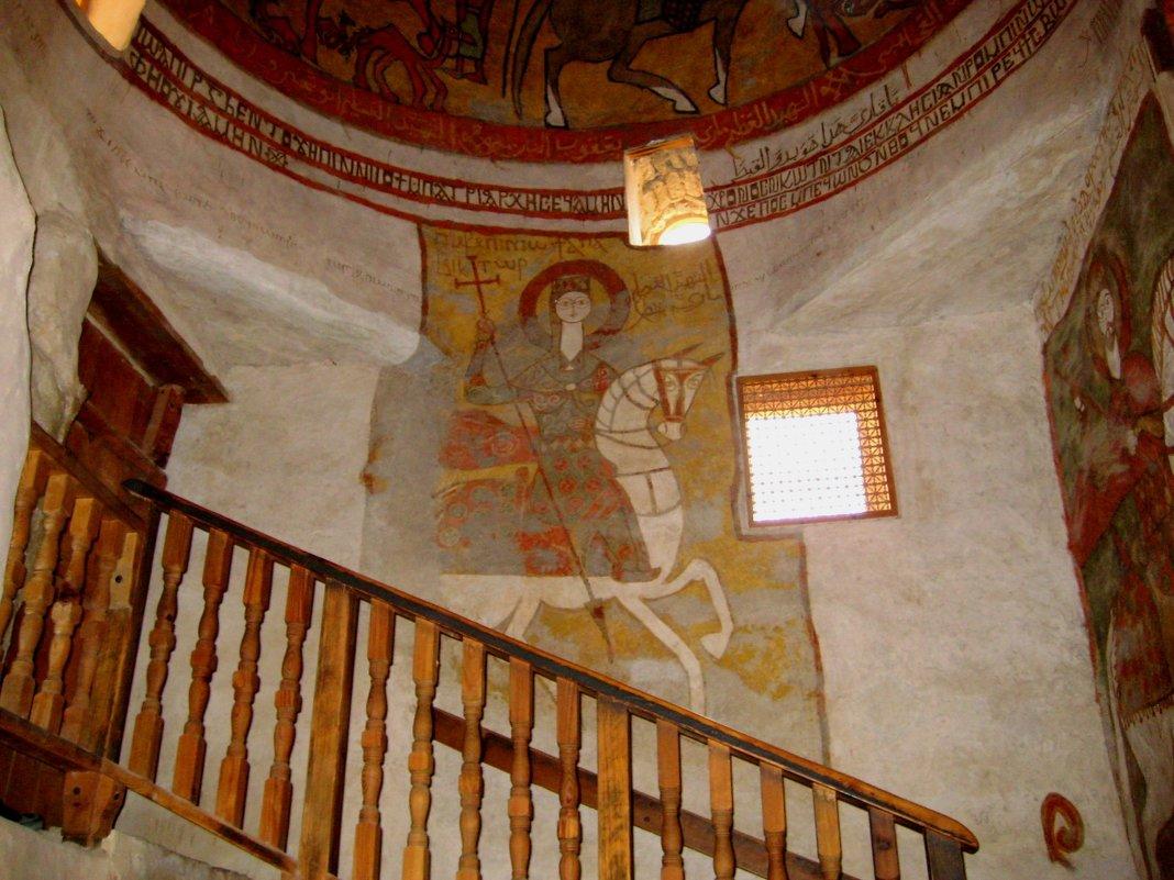 Фрески Монастыря Святого Антония в Египте - spm62 Baiakhcheva Svetlana