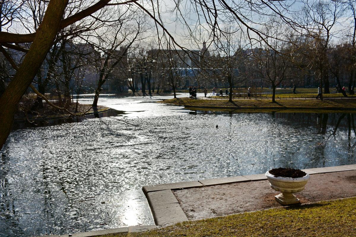 Солнечно в Юсуповском саду - Валентина Папилова