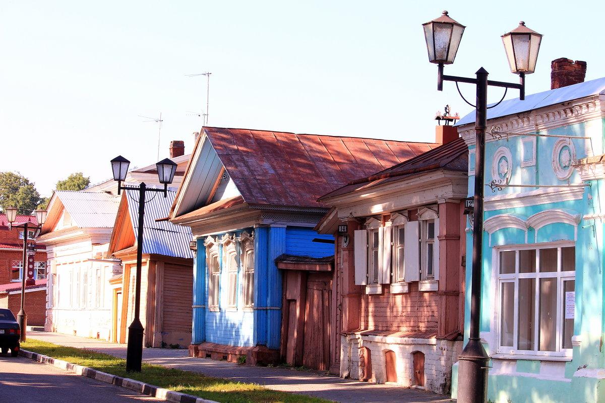 Летним утром на Городецких улочках - Татьяна Ломтева