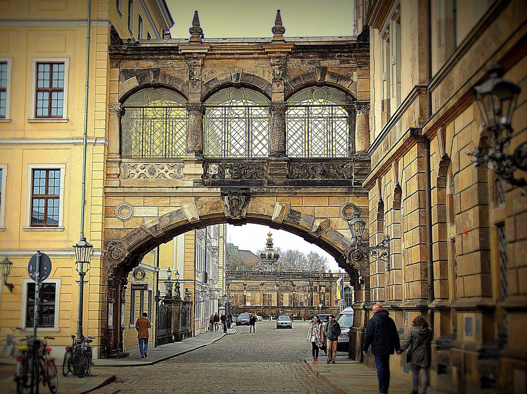 вечерний Дрезден - Ольга