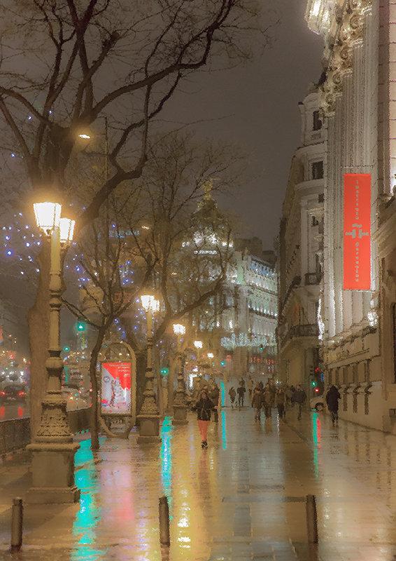 Дождливый вечер в Мадриде - Александр Метт